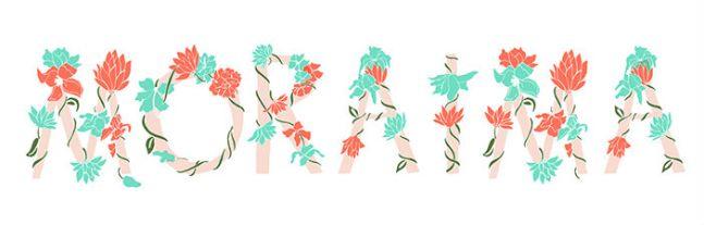 Logotipo de Moraima, por Lara Costafreda