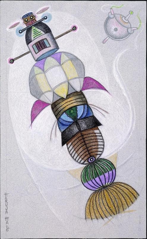Maruja Mallo - Moradores del vacío