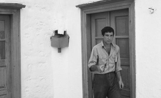 Leonard Cohen en Hydra