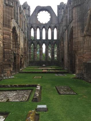 Las ruinas de la catedral de Elgin