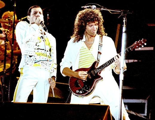 El ayer de la Red Special y Brian May, junto a Freddie Mercury.