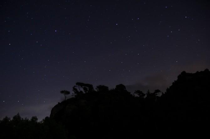 El cielo estrellado visto desde Montserrat