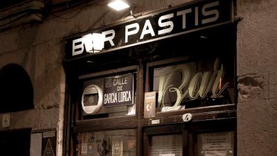 Exterior del Bar Pastís