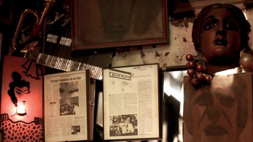 Detalles del interior del Bar Pastís