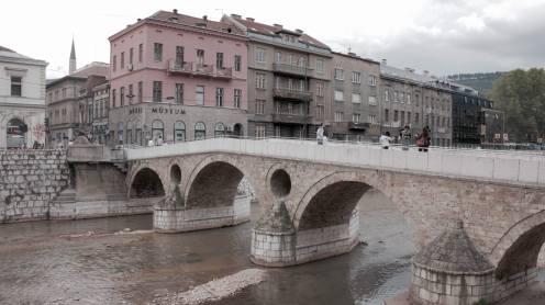 El puente donde asesinaron al archiduque de Austria